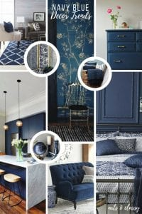 Navy Blue Interior Design Trends + Inspiration