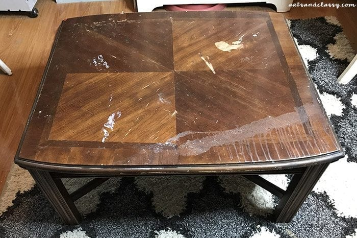 Diy Projects Coffee Table Furniture Flip Makeover