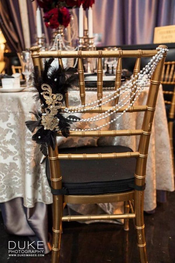 Great Gatsby Diy Wedding Decor Ideas Inspiration Arts