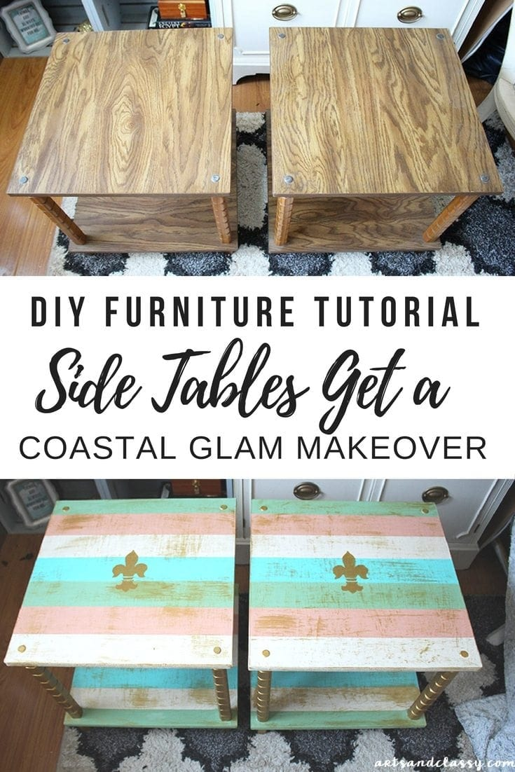 Awesome Diy Projects Ugly End Tables Get A Chic Makeover Download Free Architecture Designs Scobabritishbridgeorg