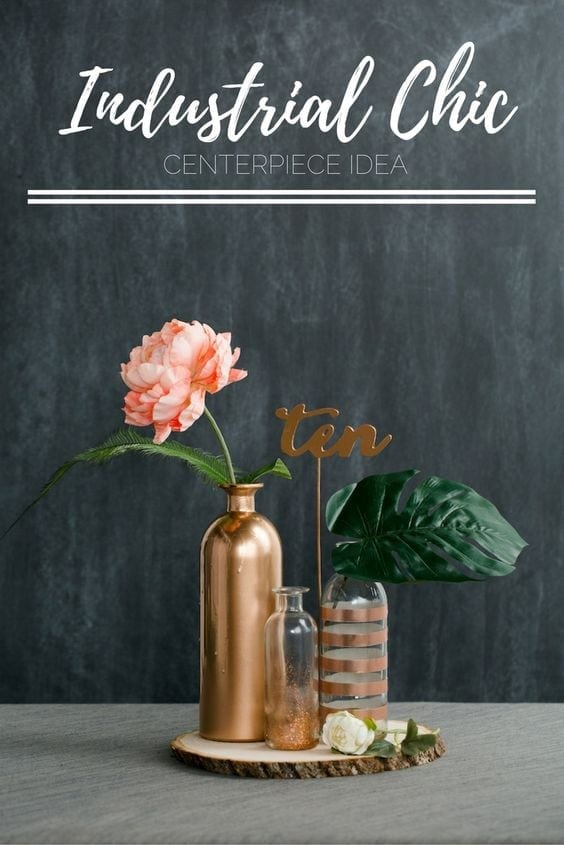 Diy Wedding Industrial Chic Decor Ideas Inspiration