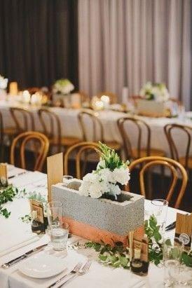 Diy Wedding Industrial Chic Decor Ideas Inspiration