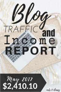 Blog Traffic and Income Report - How I made $2,410.10 in May