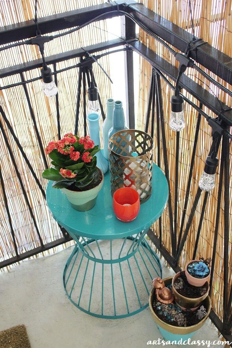 Small Apartment Balcony Garden Ideas: Small Apartment Patio Makeover
