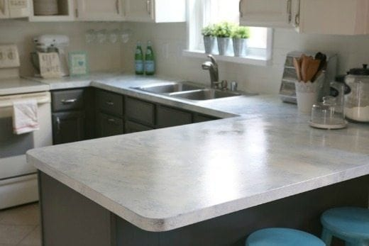 Marble Painted Countertops