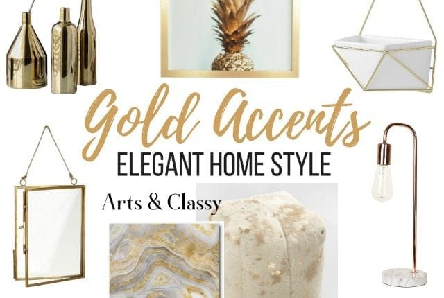 Find gorgeous gold home accents and accessories for your decor. These are some of my favorite gold home decor pieces, all at very affordable rates.