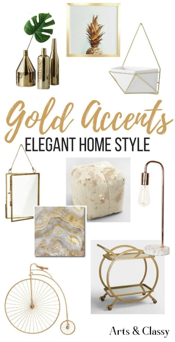 Find Gorgeous Gold Home Accents And Accessories For Your Decor These Are Some Of My