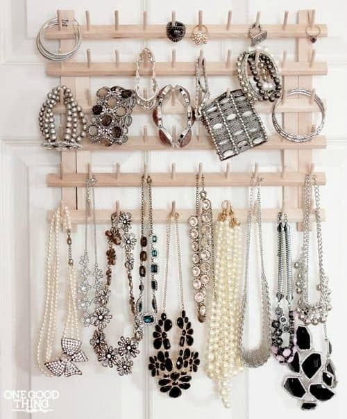 Keep your clothes and accessories in line with these Bedroom Closet Storage Hacks. I'm sharing 14 favorite DIY organizing solutions to keep your closets tidy while on a budget.
