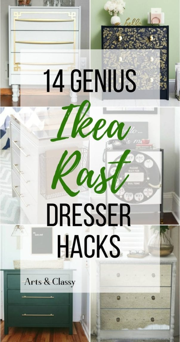 Get ready for some serious DIY furniture inspiration with these 14 Ikea Rast hacks. Grab an inexpensive wooden dresser and give it a complete makeover with paint and new hardware. These creative Ikea Rast transformations will blow you away!
