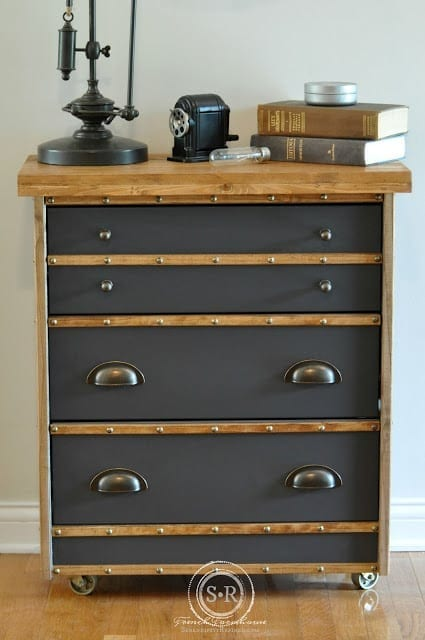 Rast Industrial Nightstand from Serendipity Refined
