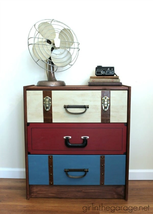 Suitcase Dresser from Girl in the Garage
