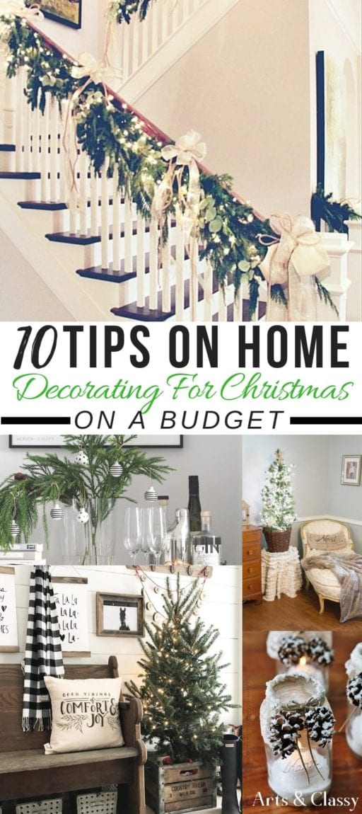 10 tips on home decorating for christmas on a budget free printables