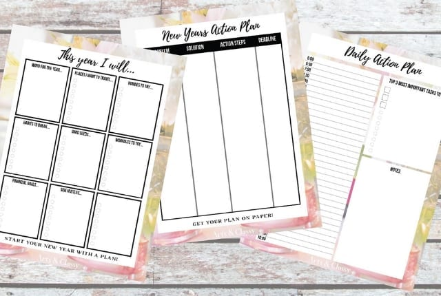 3 New Year S Goal Setting Tips For 2020 Free Printable