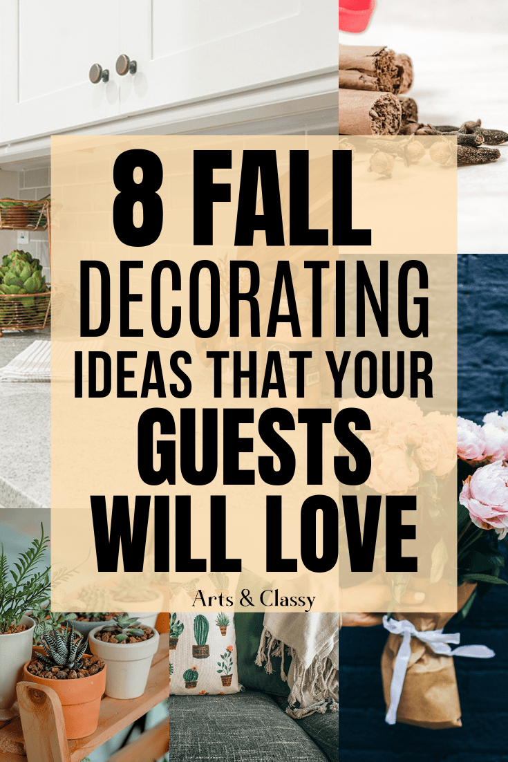 Decorating Tips For Living Room Brown Walls: 8 Fall Decorating Ideas That Your Guests Will Love