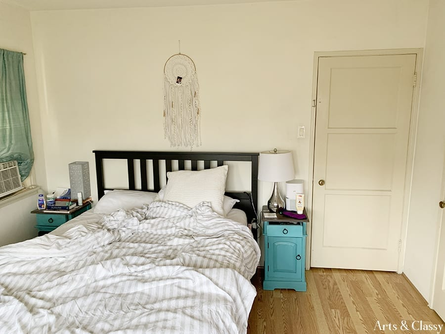 Small Master Bedroom Makeover on a Budget | Arts and Classy