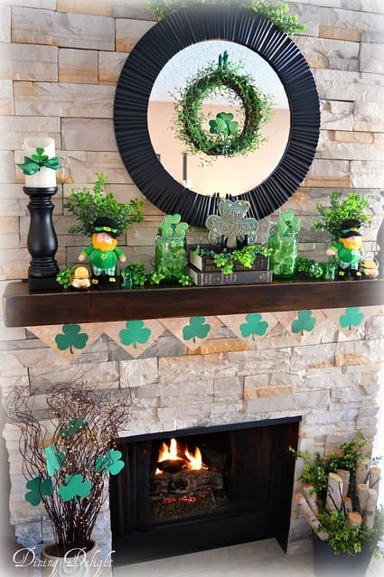 Check out these amazing St. Patricks Day Decor Ideas for your home! You can decorate your home on even the smallest of budgets.